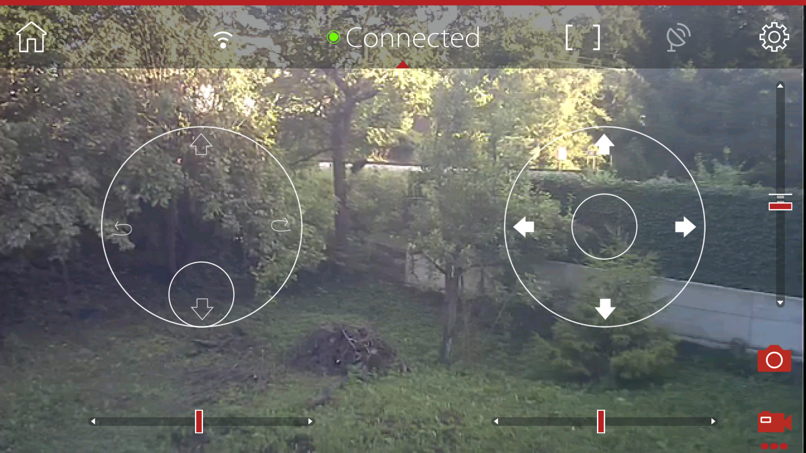Micro Drone 3.0 Android app screenshot